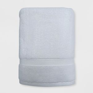 Opalhouse Bath Soft Solid Towel White - Set of 2